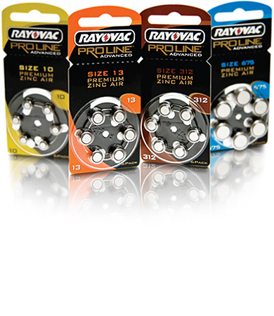 Rayovac Proline batteries